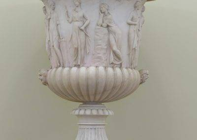 Italian Urn with Apollonian Muses
