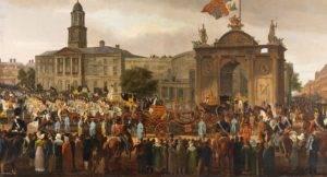 Pop-up Lunchtime Talk: Object in Focus – King George IV Entering Dublin @ Dublin Castle, State Apartments | Dublin | County Dublin | Ireland