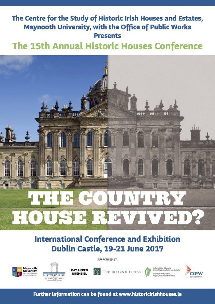 The 15th Annual Historic Houses Conference @ Hibernia Conference Centre | County Dublin | Ireland