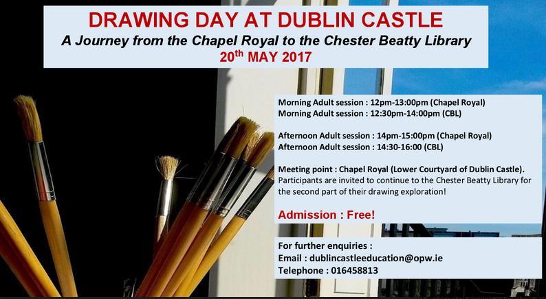 National Drawing Day @ Chapel Royal | County Dublin | Ireland