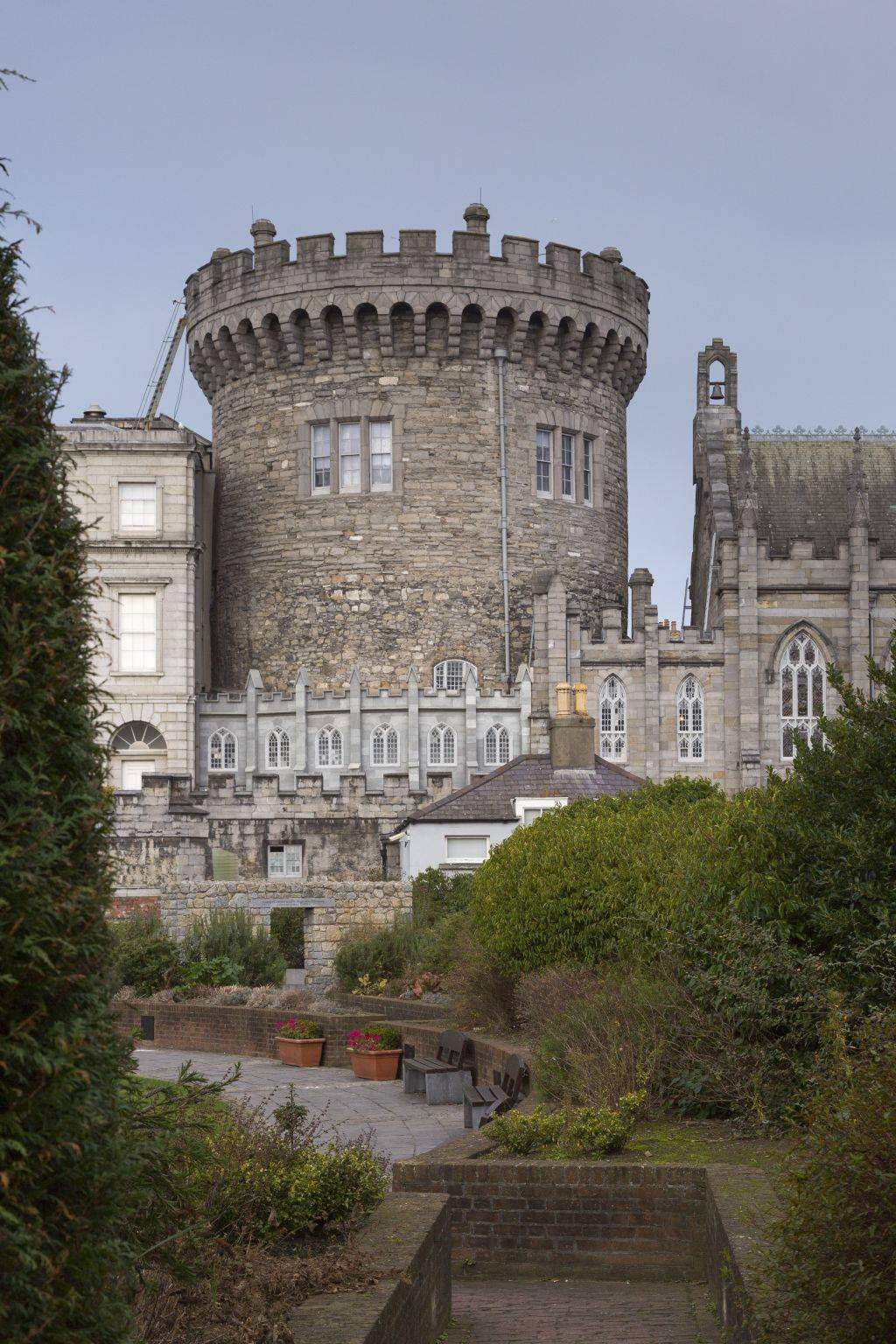 Work In Progress The Medieval Tower Dublin Castle