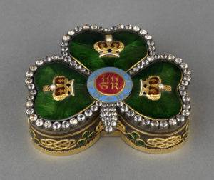 Pop-up Lunchtime Talk: Object in Focus – George IV's Shamrock-Shaped Box @ Dublin Castle, State Apartments | Dublin | County Dublin | Ireland