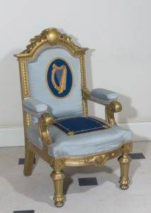Pop-up Lunchtime Talk: Object in Focus – The Irish Presidential Chair @ Dublin Castle, State Apartments | Dublin | County Dublin | Ireland