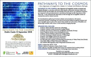 Pathways to the Cosmos @ Hibernia Conference Centre | County Dublin | Ireland