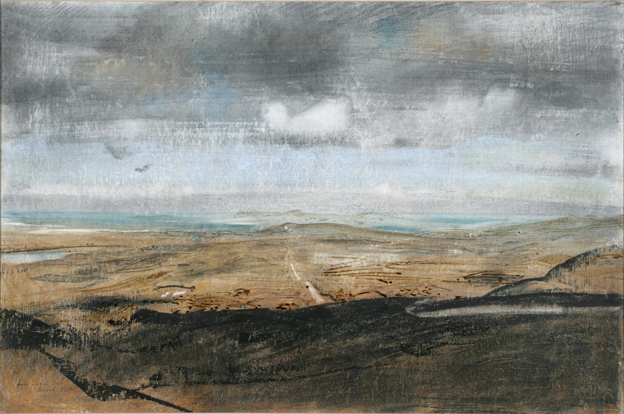 View from Lough Salt, by Pietro Annigoni, 1967