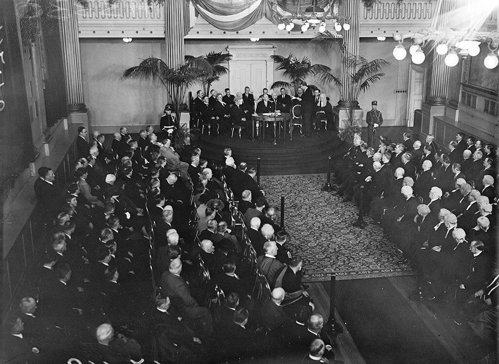 Douglas Hyde's Inauguration, 1938