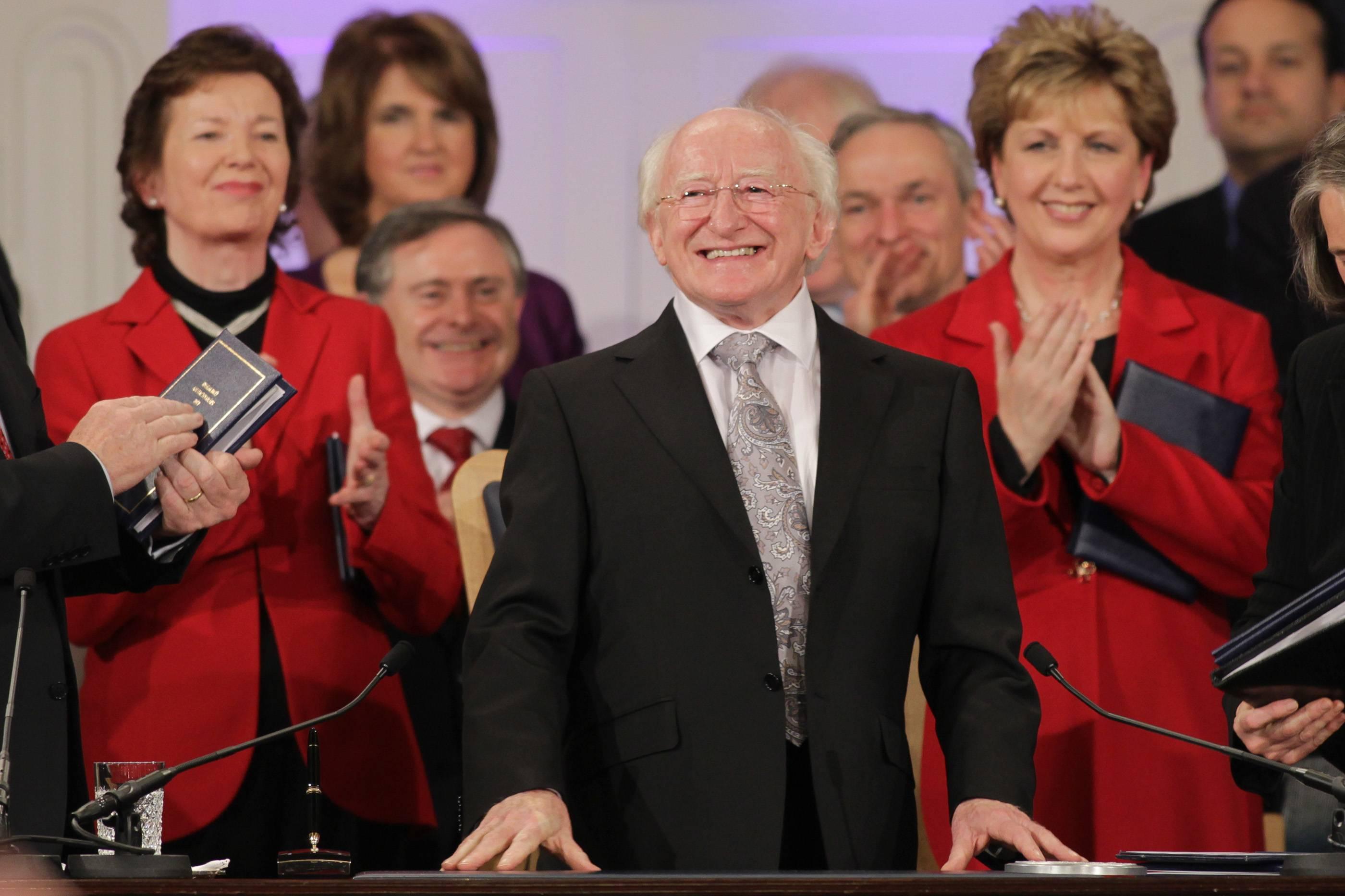President Higgins Inauguration