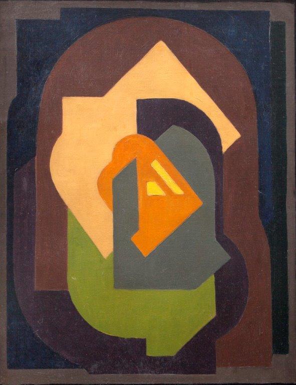 Mainie Jellet, Composition, 1922