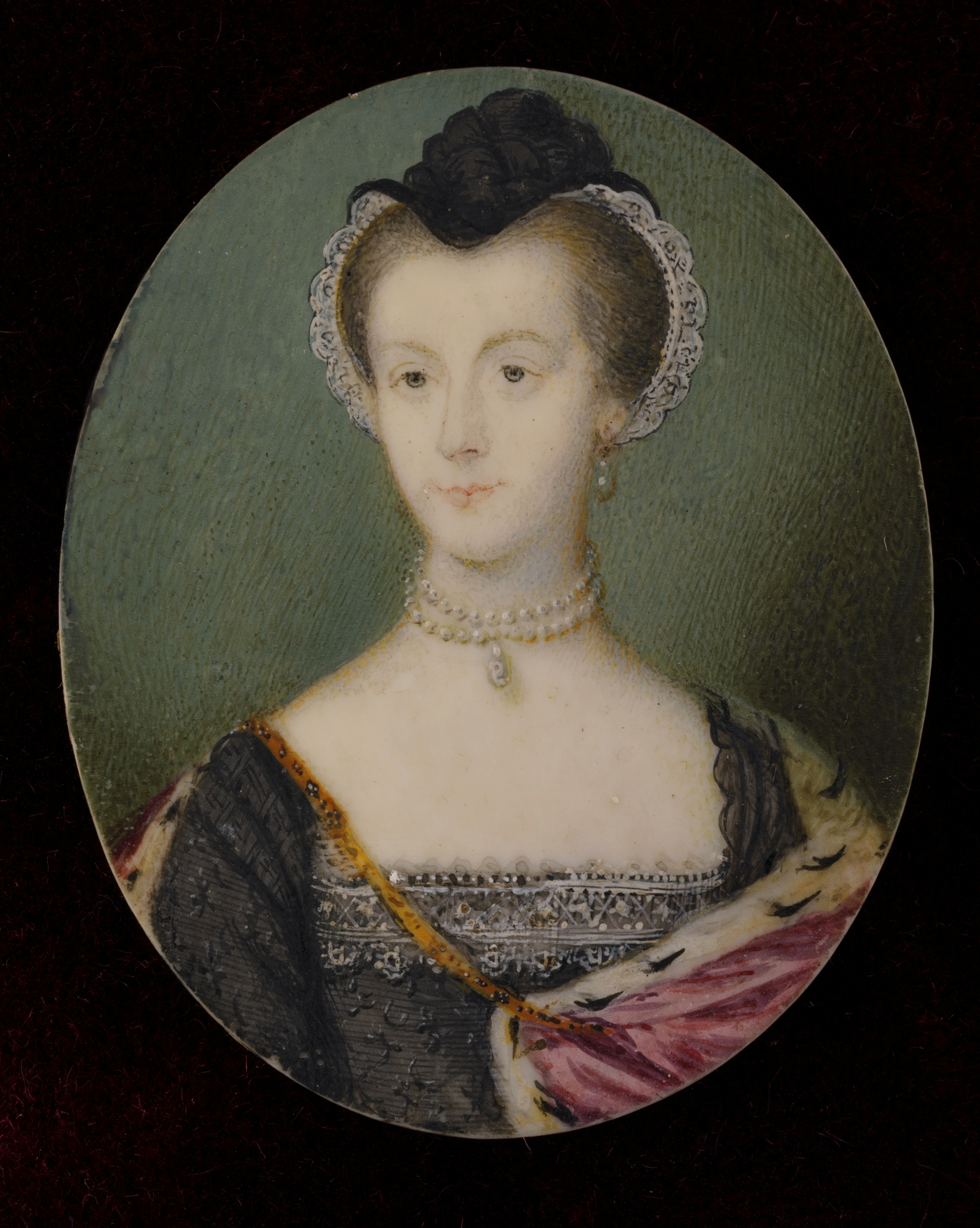 Lady Betty Cobbe, née Beresford (1736–1806) dressed as Mary Queen of Scots, Irish School, 18 th century, Cobbe Collection