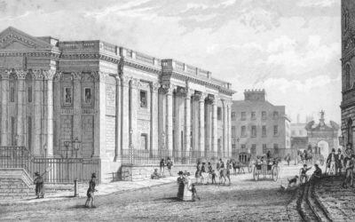 The Royal Exchange, now Dublin City Hall