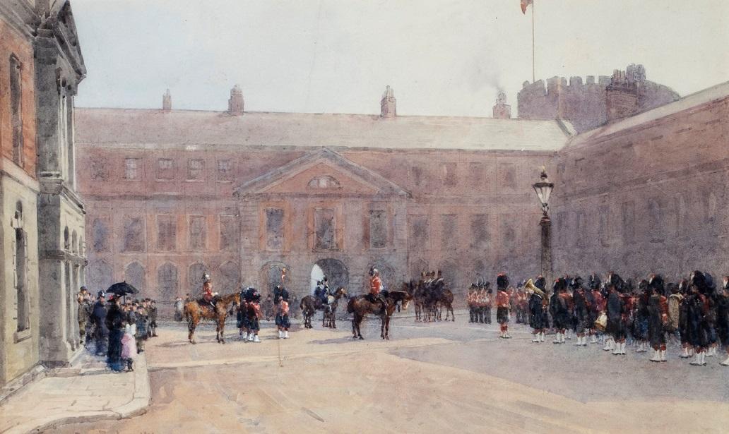 Social Distancing at Dublin Castle, 1832