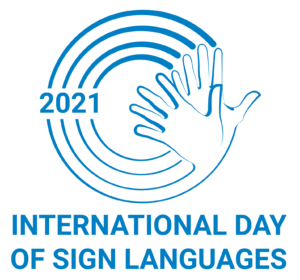 International Day of Sign Languages @ Online